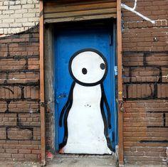 Stik #worldgraffitiart #streetart #streetartists #urbanartistsonline #urbanart #graffiti #freewalls #stik