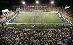 It is primarily used for American football, and is the home field of the University of Toledo Rockets. Description from imgarcade.com. I searched for this on bing.com/images