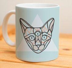 #cat #lovecat #gato #psicodelic #caneca #mug #mugs #presenteoriginal #presentinho #presentes #gift
