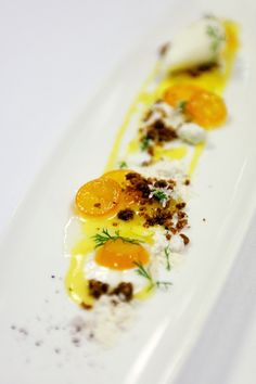 Candied Kumquats / 17 Stunning Photos Of Chef Charlie Trotter's Food (via BuzzFeed)