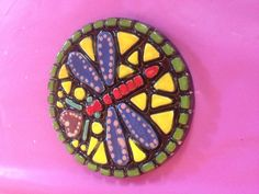 Mosaic coaster paint your own pottery Picassos lake worth fl