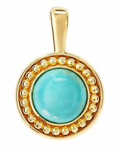 Turquoise Beaded Dome Enhancer by Slane Jewelry at Neiman Marcus Last Call.