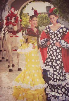 + QUE MODA FLAMENCA | Mamá de mayor quiero ser flamenca