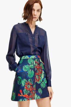 Camisa maxi bolsillos - best sellers | Adolfo Dominguez shop online