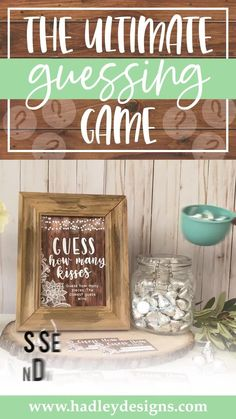 If you want a memorable party game, floral rustic baby shower guessing game jar cards are for you; lace guess how many candy in the jar cards, best bridal shower game baby shower decorations for girl baby gender reveal party supplies kit vintage barn simple white guess how many bridal shower games for guests wood lights baby shower games to play woman country guess how many kisses game man kraft gender reveal games for party boy baby shower ideas gender neutral kids birthday party games for kids Gender Reveal Party Supplies, Baby Gender Reveal Party, Baby Shower Party Supplies, Gender Neutral Baby Shower, Baby Shower Parties, Baby Shower Guessing Game, Easy Baby Shower Games, Baby Shower Candy, Baby Shower Activities