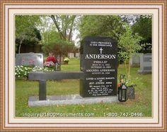 Headstone Memorial Benches