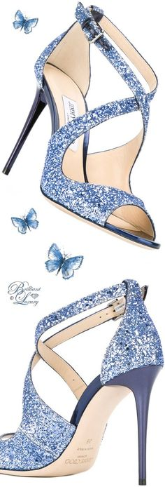 Brilliant Luxury by Emmy DE ♦ Jimmy Choo 'Emily' Sandals