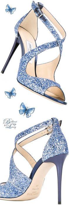 Brilliant Luxury by Emmy DE ♦ Jimmy Choo 'Emily' Sandals