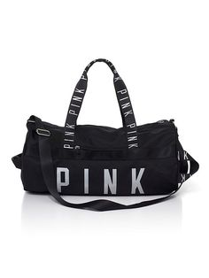 7fc5d6676c Victoria s Secret PINK Gym Duffle Bag - Pure Black     Want additional  info  Click on the image. (This is an Amazon Affiliate link)