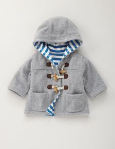 Baby boy jacket to die for.