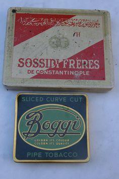 Sossidi Freres og Boggi Pipe Tobacco