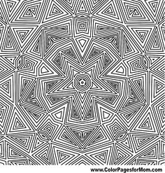Geometric Coloring Page 74 | coloring board - perfect | Pinterest