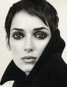 Just caught a little piece of a Winona Ryder movie yesterday and I was so in love with her hair! She can really pull off a super short pixie :)