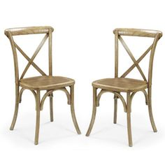 Adeco Trading Stackable Dining Side Chair