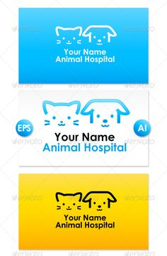 Animal Hospital Logo Dog & Cat mark, good for Animal Hospital or Clinic AI CS (well organized) + EPS Font : Century Gothic Bold Created: GraphicsFilesIncluded: VectorEPS Layered: Yes MinimumAdobeCSVersion: CS Resolution: Resizable Tags: animal Hotel Website Templates, Logo Templates, Stop Cats From Peeing, Restaurant Logo, Summer Camps For Kids, Portfolio Logo, Geometric Logo, Blue Cats, Animal Logo