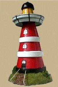Leuchtturm f r den garten selber bauen ideen f r maritime gartendeko dekoideen pinterest - Christbaumschmuck leuchtturm ...
