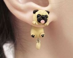 25+ Best Ideas about Animal Earrings on Pinterest | Polymer clay ...