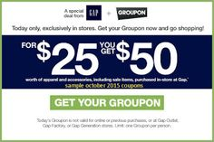 Gap Coupons Ends of Coupon Promo Codes MAY 2020 ! such memorable going others, and sustainable believing Wea inspire. Best Buy Coupons, Love Coupons, Print Coupons, Pizza Coupons, Grocery Coupons, Hobbies For Men, Fun Hobbies, Free Printable Coupons, Free Printables