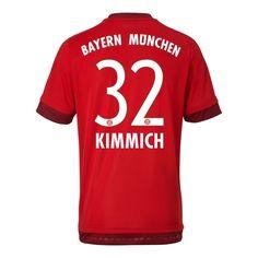 Bayern Munich 15/16 KIMMICH Home Soccer Jersey