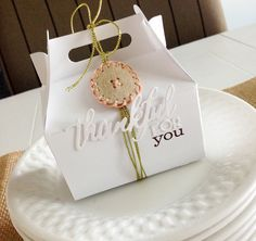 Thankful For You Gable Box by Danielle Flanders for Papertrey Ink (August 2014)