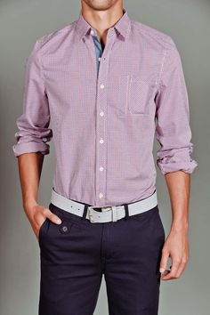 Goodale Tailored Button Down Shirt.