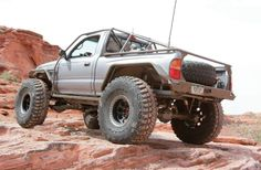 Custom 1995 Toyota Tacoma Rear Three Quarter Photo 75620490