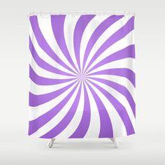 Lavender twirl pattern Shower Curtain #purple #homedecor #bathroom