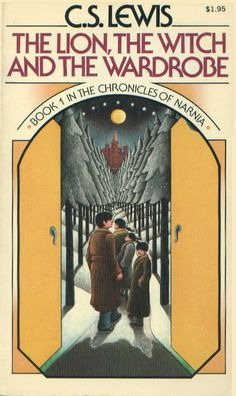 The Lion, The Witch, and The Wardrobe, by C.S. Lewis.  I've read this series multiple times, especially LW and The Last Battle.  This cover art by Roger Hane is my favorite.
