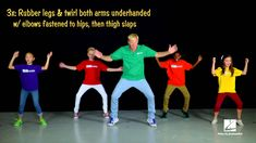 """John Jacobson and friends show us how to dance to the song """"Jailhouse Rock"""" written by Jerry Leiber and Mike Stoller, arranged by Roger Emerson and featured ..."""