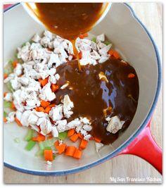 Easy Pan Asian Lettuce Wraps   My San Francisco Kitchen
