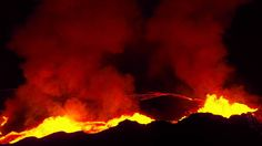 DJI Feats: Eruption at Bardabunga Volcano (montage) Just stunning.... i wish i could go close,, not maybe as close as these machines.. But close to feel the power, smell the sulphur, and have smoke come out of my shoes...