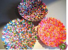 vide-poches en perles à repasser