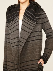Wool Cashmere Blanket Coat by Vince at Gilt