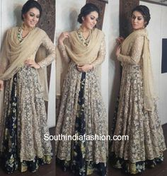 Hansika Motwani in a Peppermint Diva anarkali