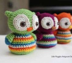 These Cute Baby Owls Amigurumi Will Make You The Best Gift Giver Ever! #CrochetEaster #freecrochetpattern #dailycrochet