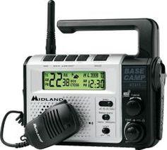 Cabela's: Midland XT511 Base Camp Emergency Radio - Silver