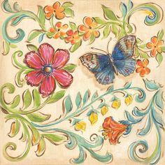 """Garden Scroll"" by Kate McRostie | DecalGirl"