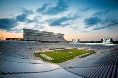 NCAA Michigan State Spartans Stadium Photo 12.5 x 15.5 Framed