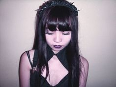 Black Babydoll Headband by CREEPYYEHA on Etsy, $30.00