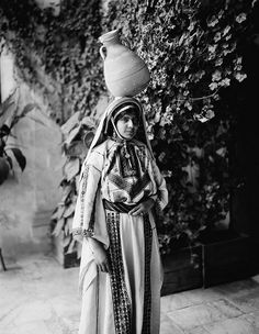 Ottoman Palestine Costumes and characters, etc 1900-1915