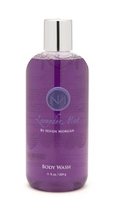 Niven Morgan Lavender Mint Body Wash - Cool your jets with Niven Morgan Lavender Mint Body Wash. Cool mint is blended with lavender, clary sage, and spearmint to evoke an uplifting and aromatic scent. Wash away life's impurities with this fresh foaming body wash. Daily use will help keep you pure and calm. Find Niven Morgan bath and body products at mrsunscreen.com