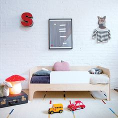 Perch Toddler Bed OEUF nyc #oeufnyc #toddlerbed #kids #furniture #ecofriendly #modern #design #kidsrooms #roominspiration