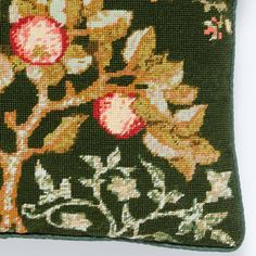 Our 'Apple Tree' is adapted from an artwork in the collections of the Victoria and Albert Museum, London. 🌳🍎 Design Museum, Art Museum, Tapestry Kits, The V&a, Needlepoint Kits, Apple Tree, Victoria And Albert Museum, Original Artwork, Collections