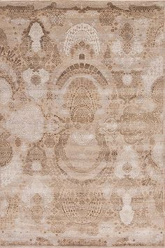 Manhattan Reserve Wool & Silk - Hanover Square - Samad - Hand Made Carpets