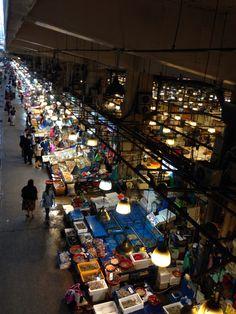 노량진 수산시장  fish market