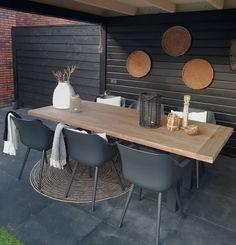 Ideas Concrete Patio Decor House For 2019 Porch Interior, Pergola, Ceiling Materials, Porch Flooring, Diy Porch, Concrete Patio, Inspired Homes, Garden Inspiration, Garden Furniture