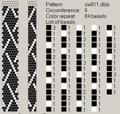 NooN beaded jewellery: crochet-beaded rope patterns …