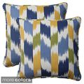 Pillow Perfect Outdoor Cruze Corded 18.5-Inch Throw Pillow (Set of 2) | Overstock.com