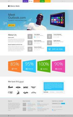Metroabout #webdesign