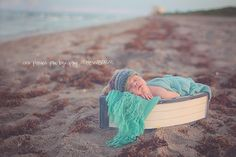 newborn # beach # boat